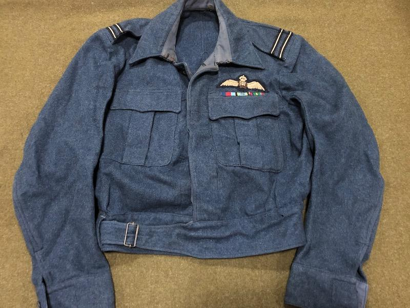 WWII RAF Flight Lieutenant Pilot's Aircrew Blouse and War Service Trousers